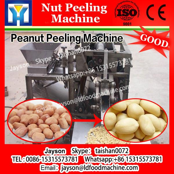 hot industrial machine peeling the nuts for peanut bean