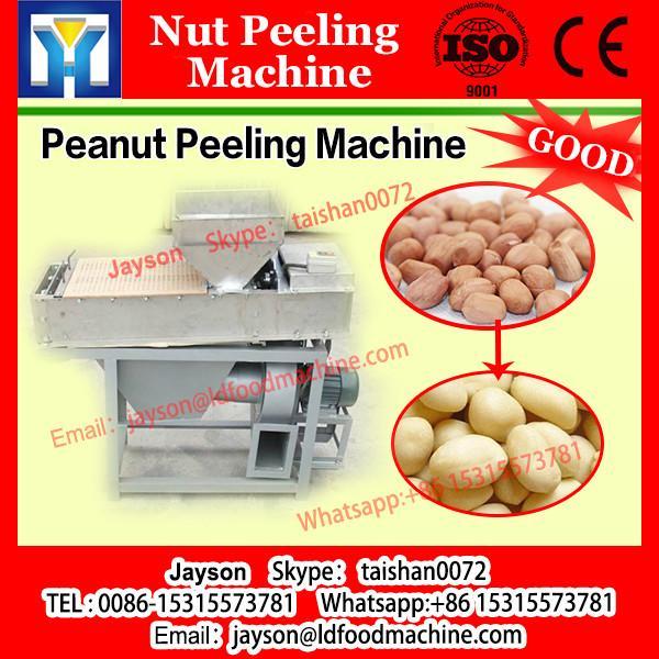 Supplying acorn shelling and peeling machine