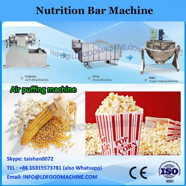 China Nutritional Snack Food Cereal Bar Making Machine