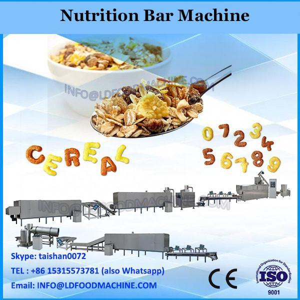 Automatic Peanut Snack Candy Bar Making Machine/Nutrition Bar Maker