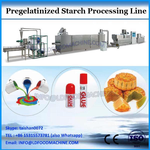 pregelatinized strach I modified starch extruder I Twin screw extruder with 800kg/h