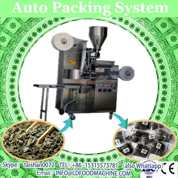 small packet full auto row distribution system for breadsticks