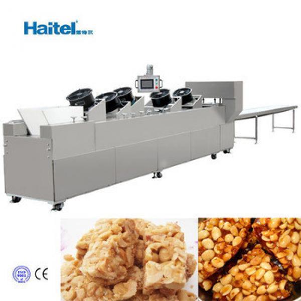 Newest modern granola bar making machine/production line