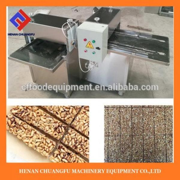 Factory Wholesale candy granola cereal bar cutting machine