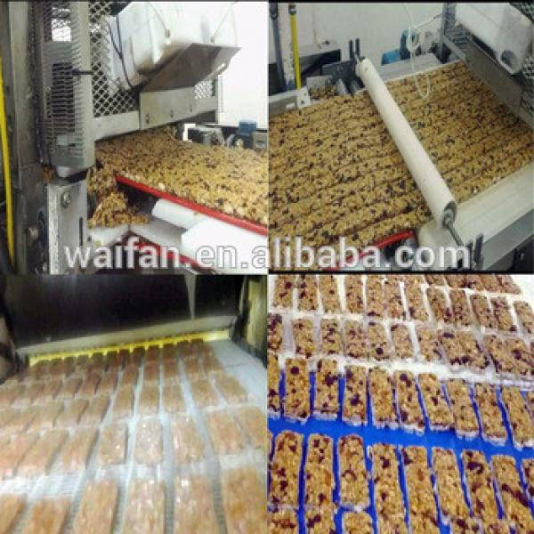Peanut nougat making machinery/granola bar making machine/nougat machine
