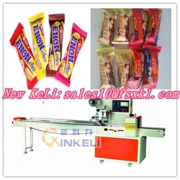 Granola bar wrapping machine