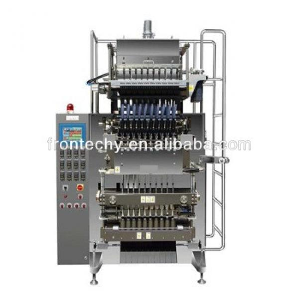 automatic multi-lane sugar/salt/coffee granola bar packing machine
