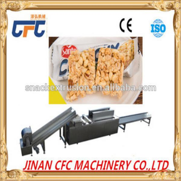 Hot sale sesame/peanut candy cereal bar forming cutting machine/cheese cutting plane