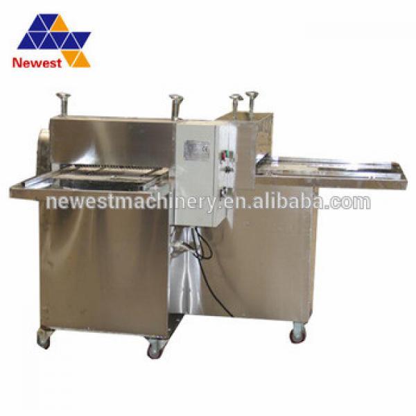 Hot sale granola bar cutting machine/granola bars cutter/swelled candy rice forming machie