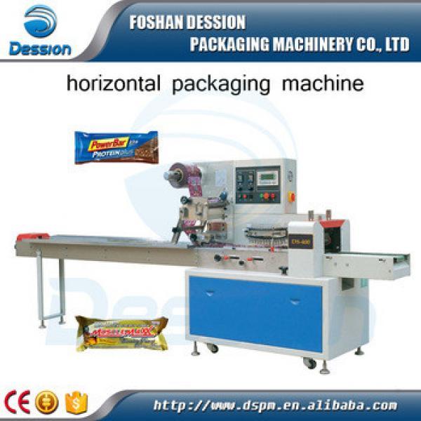 Chinese nitrogen flushing protein bars packaging machine