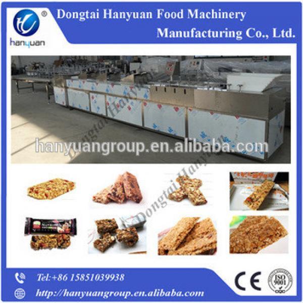 Automatic granola bar cutting machine, granola bar candy production line