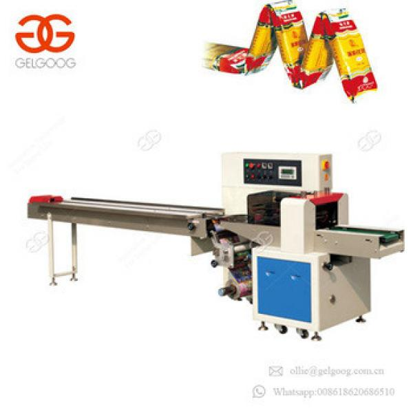 Good Feedback Widely Application Soap Flow Packaging Machinery Granola Bar Candy Pillow Packing Machine