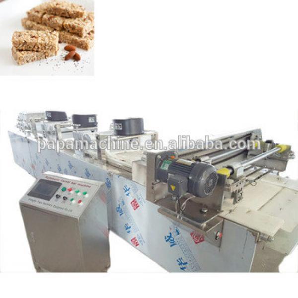 China industrial granola bar making machine production line