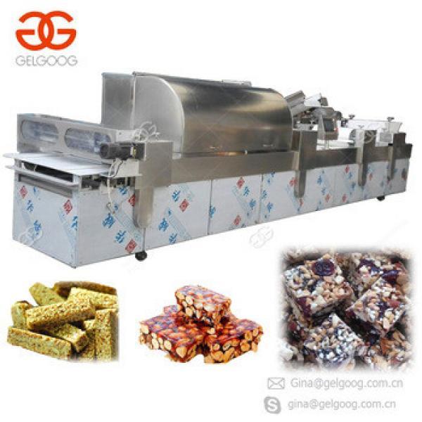 Hot Selling Manufacturers Granola Bar Cereal Bar cutting machine Peanut Crisp Candy Making Machine