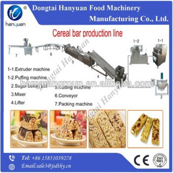 healthy grain candy bar forming and cutting machine