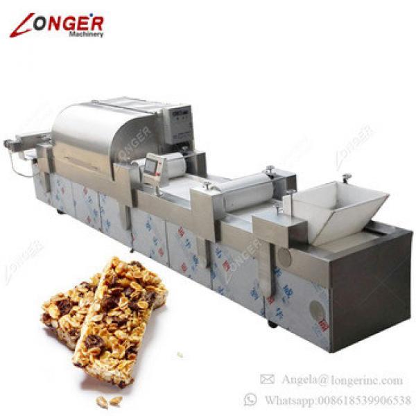 Automatic Industrial Sesame Bar Making Machine Granola Bar Production Line