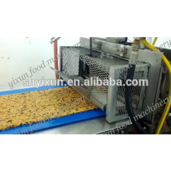 YX/CB800 Hot oat cereal bar making machine