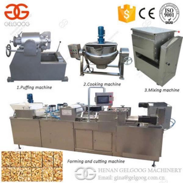 Factory Bar Cutting Machine Cereal Granola Sesame Peanut Candy Machine Automatic Peanut Bar Making Machine