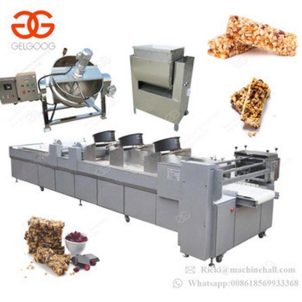 Factory Supply Sunflower Seeds Granola Chikki Sesame Energy Nut Bar Peanut Candy Making Production Line Peanut Candy Machine