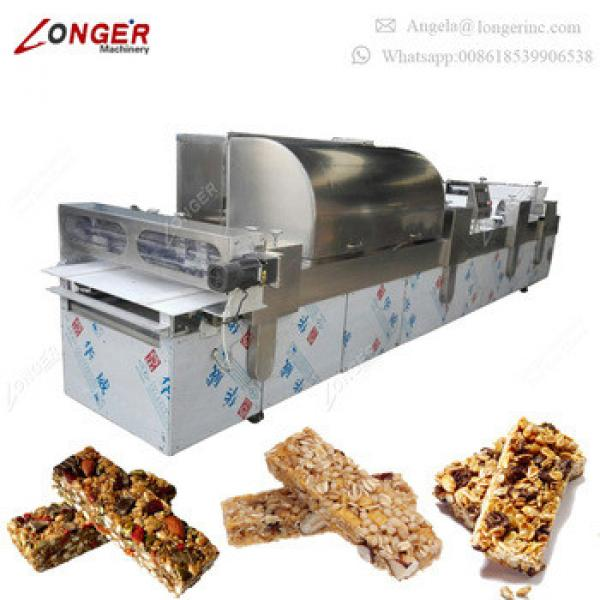 Automatic Cereal Bar Machine Granola Bar Making Machine Protein Bar Production Line