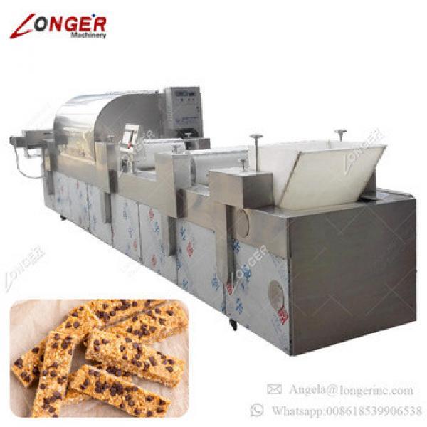 Automatic Sesame Bar Making Machine Muesli Bar Production Line