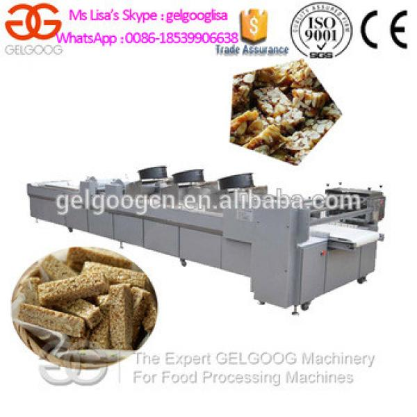 Granola Bars Molding and Cutting Machine/Nougat Pressing and Cutting Machine