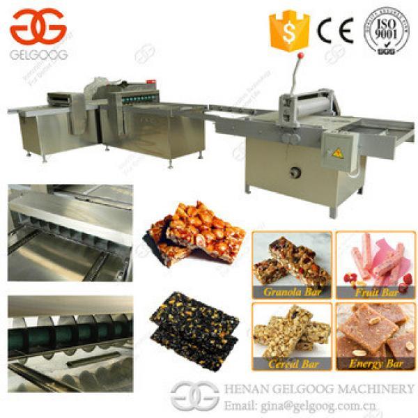 Best Price Stainless Steel Protein Granola Bar Production Line Peanut Brittle Cutter Sesame Sweet Making Machine