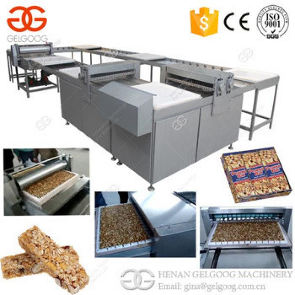 Trade Assurance Energy Granola Cereal Bar Making Machine Peanut Candy Bar Production Line