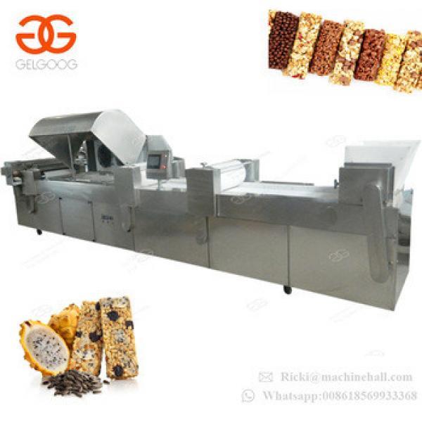 Wholesale Automatic Nut Peanut Candy Cereal Sesame Energy Bar Making Production Line Nut Bar Machine
