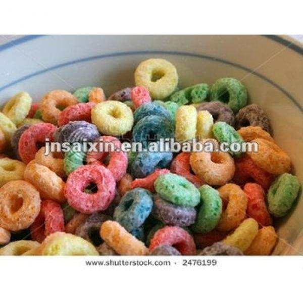 breakfast extruded cereal flakes machine by chinese earliest machine supplier since 1988