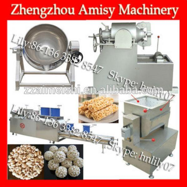 Hot Sale Breakfast Cereal Bar Maker (Skype: hnlily07)