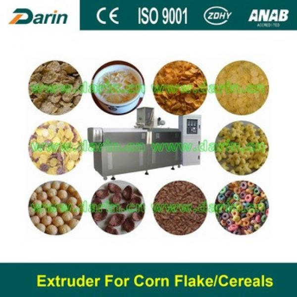 Breakfast Cereal Flakes Extrusion Food Machine Jinan Darin Machinery