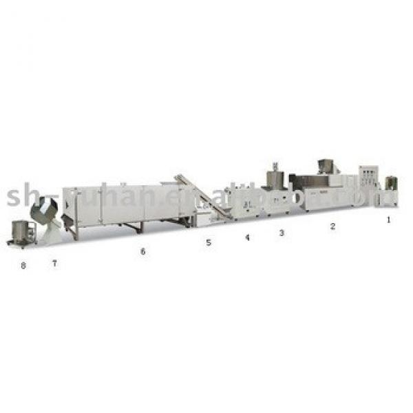Automatic Extrusion Snack Process Line