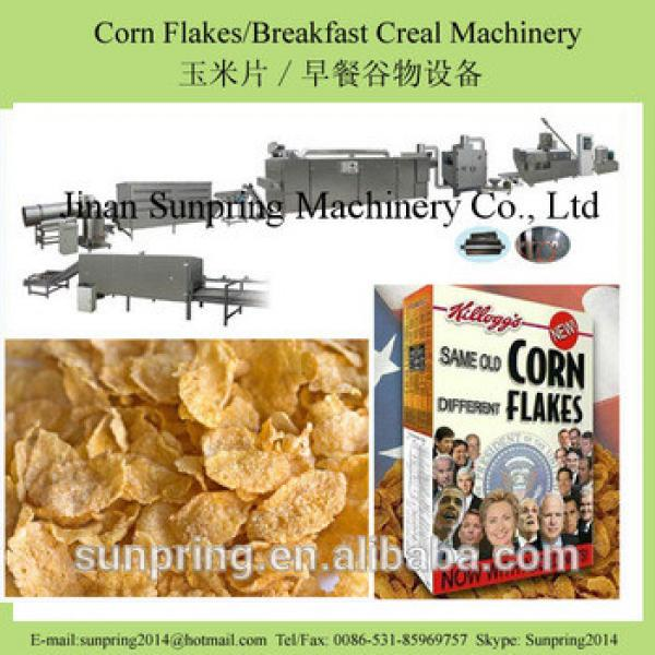 Original/spray sugar frosted corn flakes breakfast cereal making machine