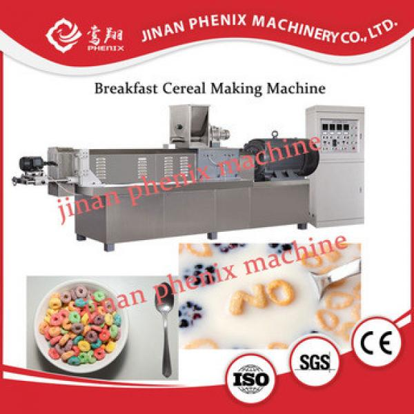 cornflakes breakfast cereal snack food making machine