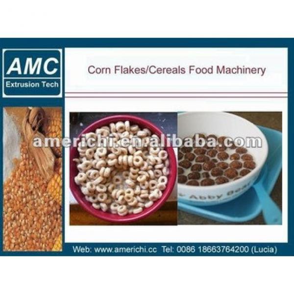 Crispy Cornflakes/breakfast Cereals Machine