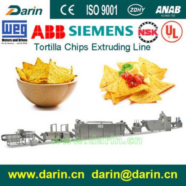 Tortilla chips making machine/tortilla machinery/Corn chips production line