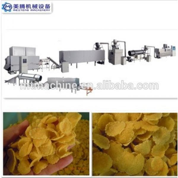 corn flakes snack food extruder breakfast cereal machine
