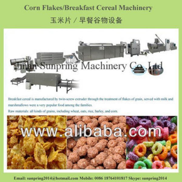 Kelloggs corn flakes cereals making machines