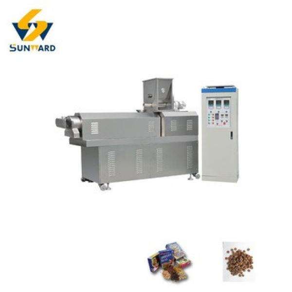 hot sale full automatic breakfast corn flakes extruder machine