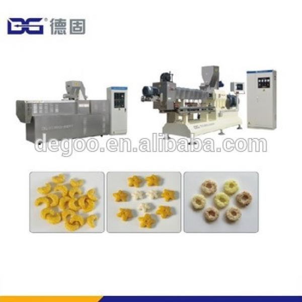 Corn flakes manufacturing machine for corn flakes production process
