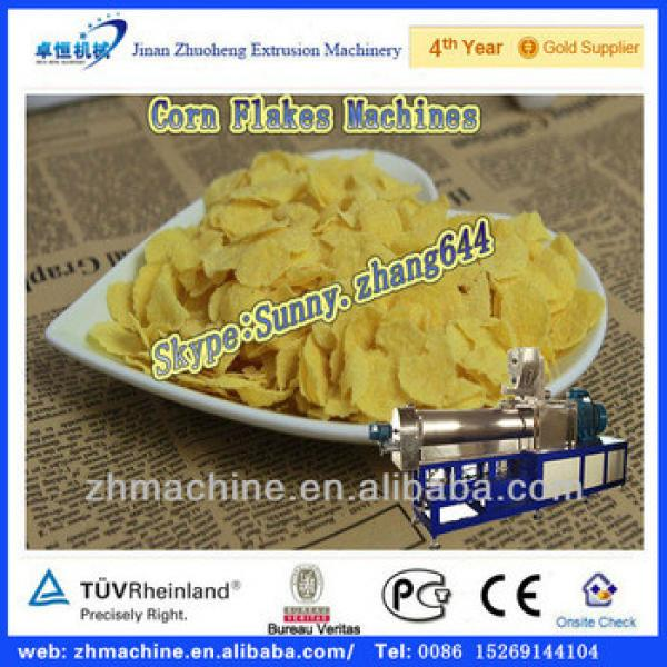 Milled instant corn flakes machine