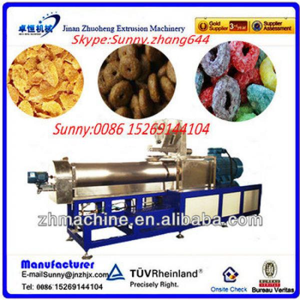 Jinan Zhuoheng toasting breakfast cornflakes machinery