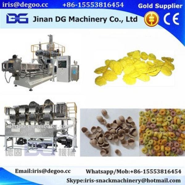 Factory use corn flakes machine/corn flakes extruder/corn flakes line 100~600kg/hr