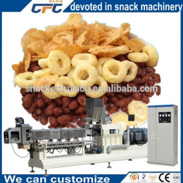 Industrial Automatic Toasting Corn Flakes Machinery