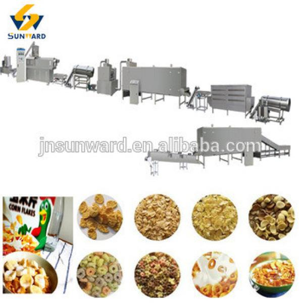 breakfast cereal product machine corn flake extruder