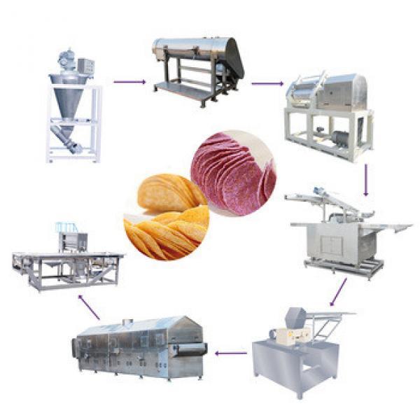 professional stainless steel pringle potato chip making machine