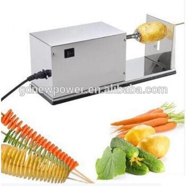 electric tornado potato cutter potato chips making machine tornado potato machine