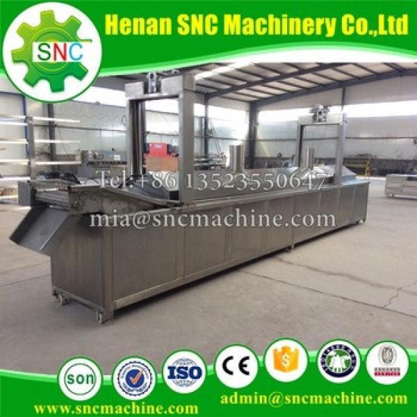 SNC French fries or Potato chips machine Hot sale small scale potato chips making machine