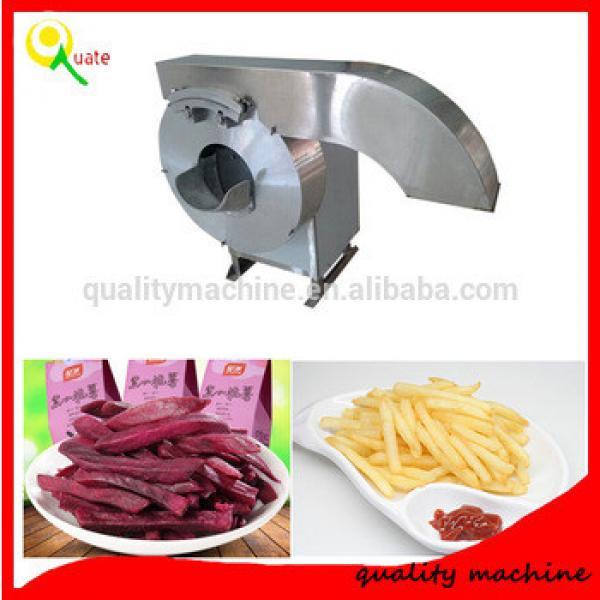 Auto Potato Chips Making Machine / French Fries Stainless Steel Potato Stick Cutting Machine